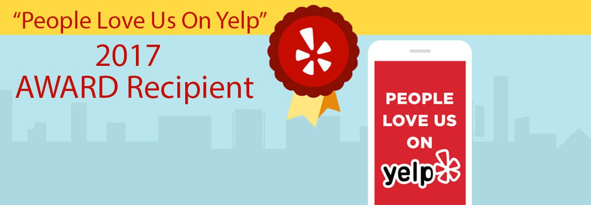 See our Yelp Reviews -